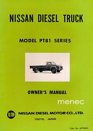Nissan Diesel Truck >> Antikvaarinen Kirjakauppa Menec Nissan Diesel Truck Model