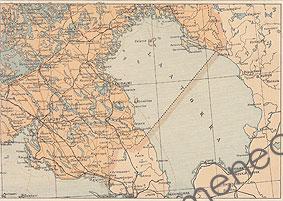 Antikvaarinen Kirjakauppa Menec Laatokka Kartta