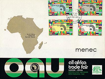 FDC, Kenia Uganda Tansania, OAU, All Africa Trade Fair