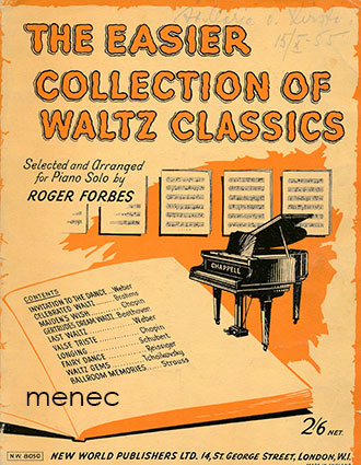 Easier Collection of Waltz Classics