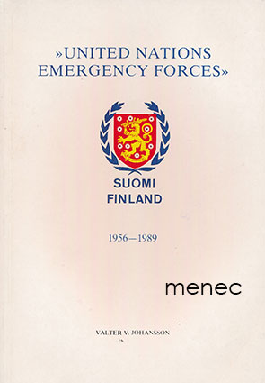 Johansson, Valter V. - United Nations Emergency Forces. S. F.