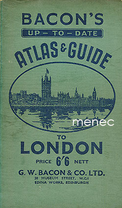 Bacon's up-to-date Atlas & Guide to London