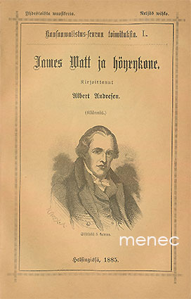 Andresen, Albert - James Watt ja höyrykone