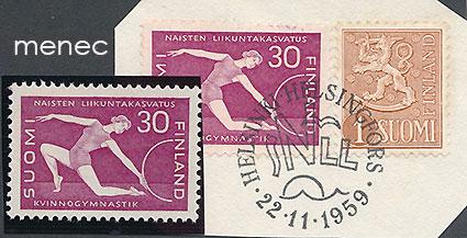Naisten liikuntakasvatus 1959, 2 kpl