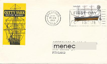 Iso-Britannia, Cutty Sark 1969, FDC