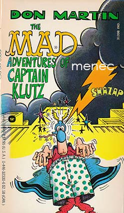 Martin, Don - Mad Adventures of Captain Klutz