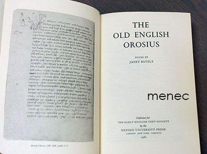 Paulus Orosius - Old English Orosius
