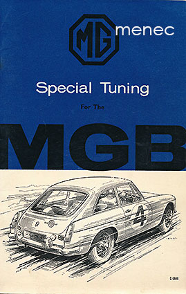 MGB Tourer and GT Special Tuning