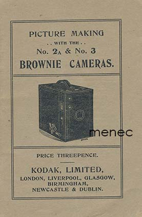 Picture Making with the No. 2A & No. 3 Brownie Cameras