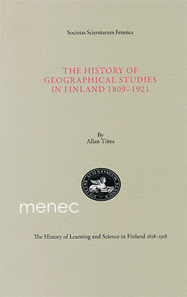 Tiitta, Allan - history of geographical studies in Finland 1809-1921