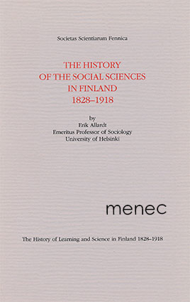 Allardt, Erik - history of the social sciences in Finland 1828-1918