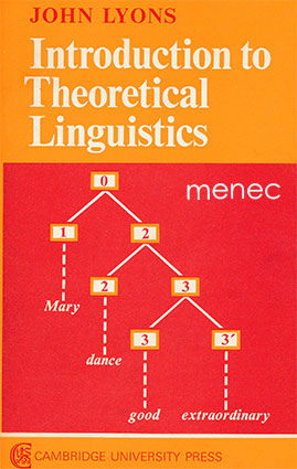 Lyons, John - Introduction to Theoretical Linguistics