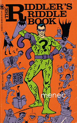Riddler's Riddle Book