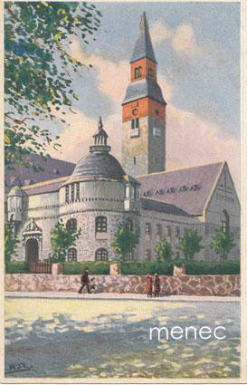 Bock, A. - Helsinki, Kansallismuseo, taidekortti