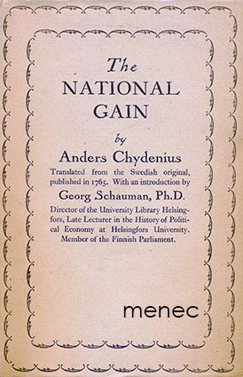 Chydenius, Anders - National Gain