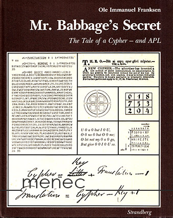 Franksen, Ole Immanuel - Mr. Babbage's Secret