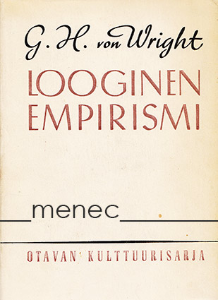 Wright, Georg Henrik von - Looginen empirismi