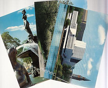 3 Kuultokuvan Helsinki-korttia